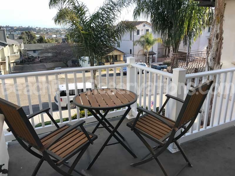 Balcony off Living Room