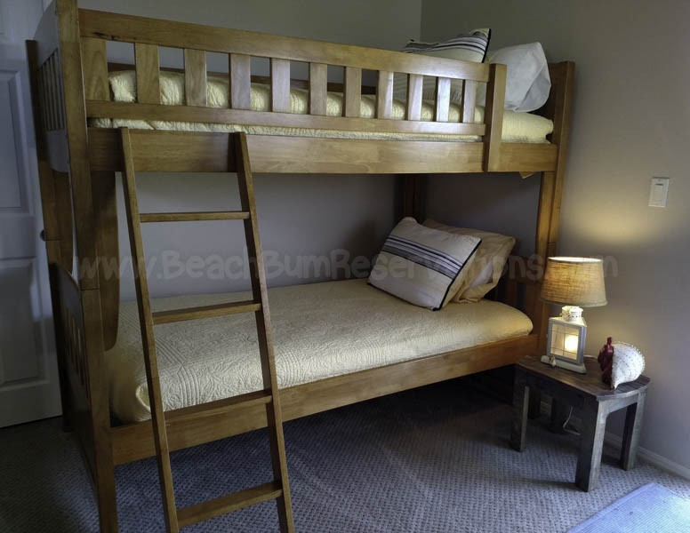 Fourth Bedroom - Twin Bunks