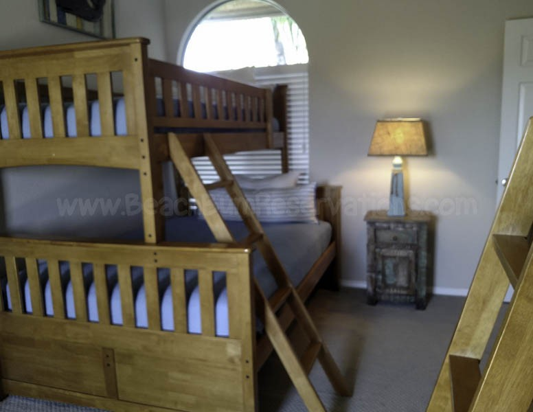 Fourth Bedroom - Full/Twin Bunks
